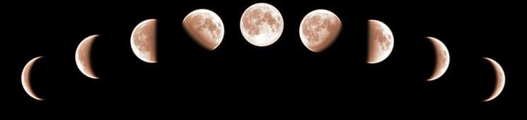 luna calante-crescente